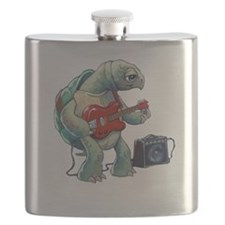 Turtle Tuning Guitar Flask