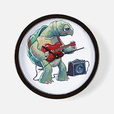 Turtle Tuning Guitar Wall Clock