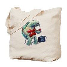 Turtle Tuning Guitar Tote Bag