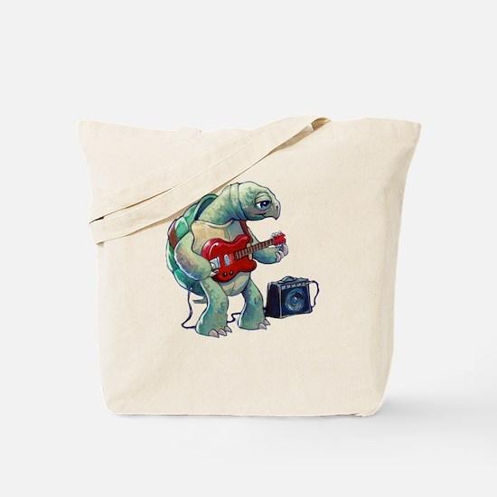 Turtle Tuning Guitar Tote Bag