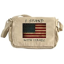I Stand with Israel - bltrs Messenger Bag