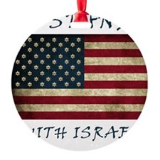I Stand with Israel - bltrs Ornament