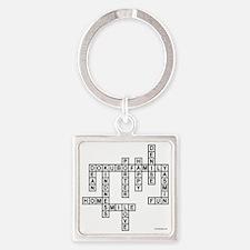 DOKUBO 2 Square Keychain