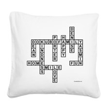 DOKUBO 2 Square Canvas Pillow