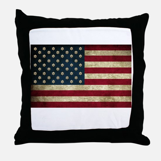 I Stand with Israel - wltrs Throw Pillow