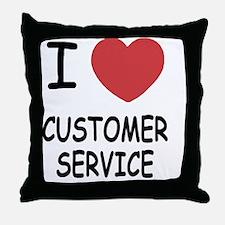 CUSTOMER_SERVICE Throw Pillow