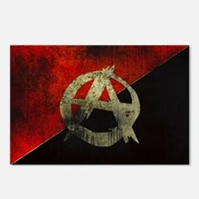 anarchy-symbol-flag Postcards (Package of 8)