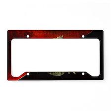 anarchy-symbol-flag License Plate Holder