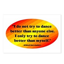 Dance Better than Myself Postcards (Package of 8)