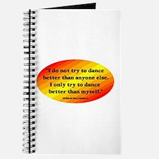 Dance Better than Myself Journal