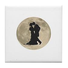 Ballroom Moon Dancers Tile Coaster