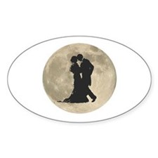 Ballroom Moon Dancers Stickers