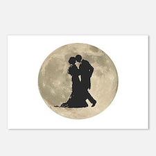 Ballroom Moon Dancers Postcards (Package of 8)