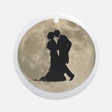 Ballroom Moon Dancers Ornament (Round)