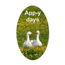 Geese iPod Wall Decal