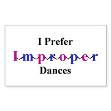 Improper Dances Decal