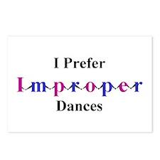 Improper Dances Postcards (Package of 8)