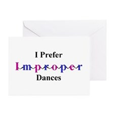 Improper Dances Greeting Cards (Pk of 10)