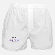 Improper Dances Boxer Shorts