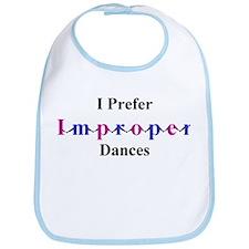Improper Dances Bib