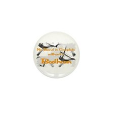 Bodhran Mini Button (10 pack)