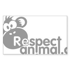respect-animal-04 Decal