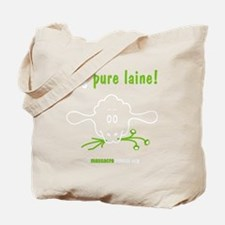 veg-pure-laine-fr-2-black Tote Bag