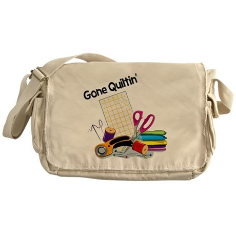 GoneQuiltin-01 Messenger Bag