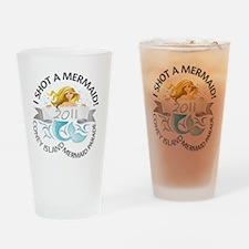 MermaidParade_TShirt_V5_7MB_X1A Drinking Glass