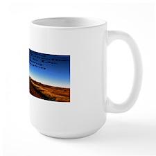 Keep walking 42x14 Mug