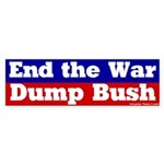 End the War Bumper Sticker