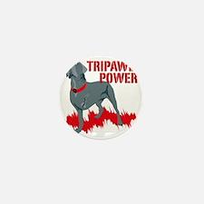 Tripawd Power Bellona Cane Corso Mini Button
