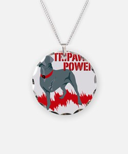Tripawd Power Bellona Cane C Necklace