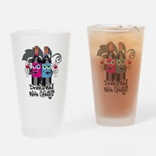 Drinks-Well-With-Others-blk Drinking Glass