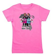 Drinks-Well-With-Others-blk Girl's Tee
