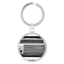 Dexters air conditioners Round Keychain