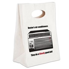 Dexters air conditioners Canvas Lunch Tote