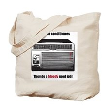 Dexters air conditioners Tote Bag
