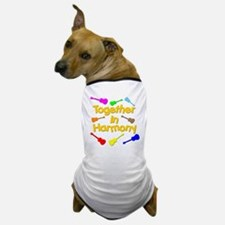 rainbow ukulele ukes Dog T-Shirt