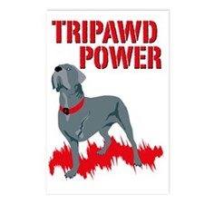 Tripawd Power 5X7 Card Postcards (Package of 8)