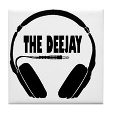 The Deejay Tile Coaster