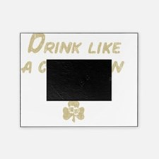 Drink_shirt_gold Picture Frame