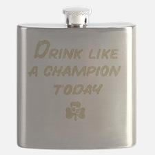 Drink_shirt_gold Flask