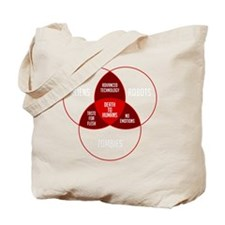venn_wt_10x10 Tote Bag