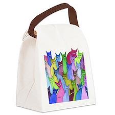 many minnesota stray cats Canvas Lunch Bag