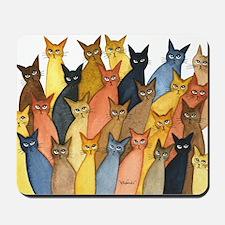many new york stray cats Mousepad