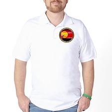 june11_putt_plastic_red_sun T-Shirt