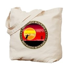 june11_putt_plastic_red_sun Tote Bag