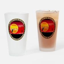 june11_putt_plastic_red_sun Drinking Glass