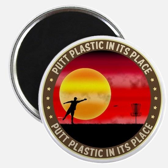 june11_putt_plastic_red_sun Magnet